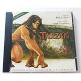 Cd Trilha Sonora Tarzan Em Português [frete Grátis]